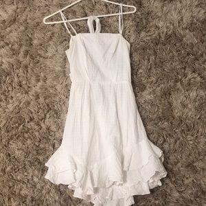 australian size 8 (US size 4) white dress